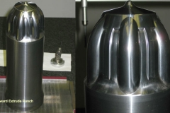 Tungsten Carbide Backward Extrude Punch used in part to create CV Joints Automotive Tooling