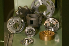 Variety of Valve Plates and Valve Blocks produced from bronze alloys, tool steels and high speed steels.