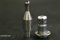 Piston and Piston Lock - Nickel Plated