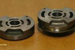 Aluminum casting machined to extremely close tolerances both in size and finish requirements for the defense industry