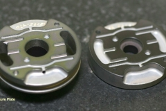 Hardcoated aluminum Pressure Plates supplied in matched pairs