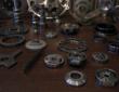 fluid powered pump components
